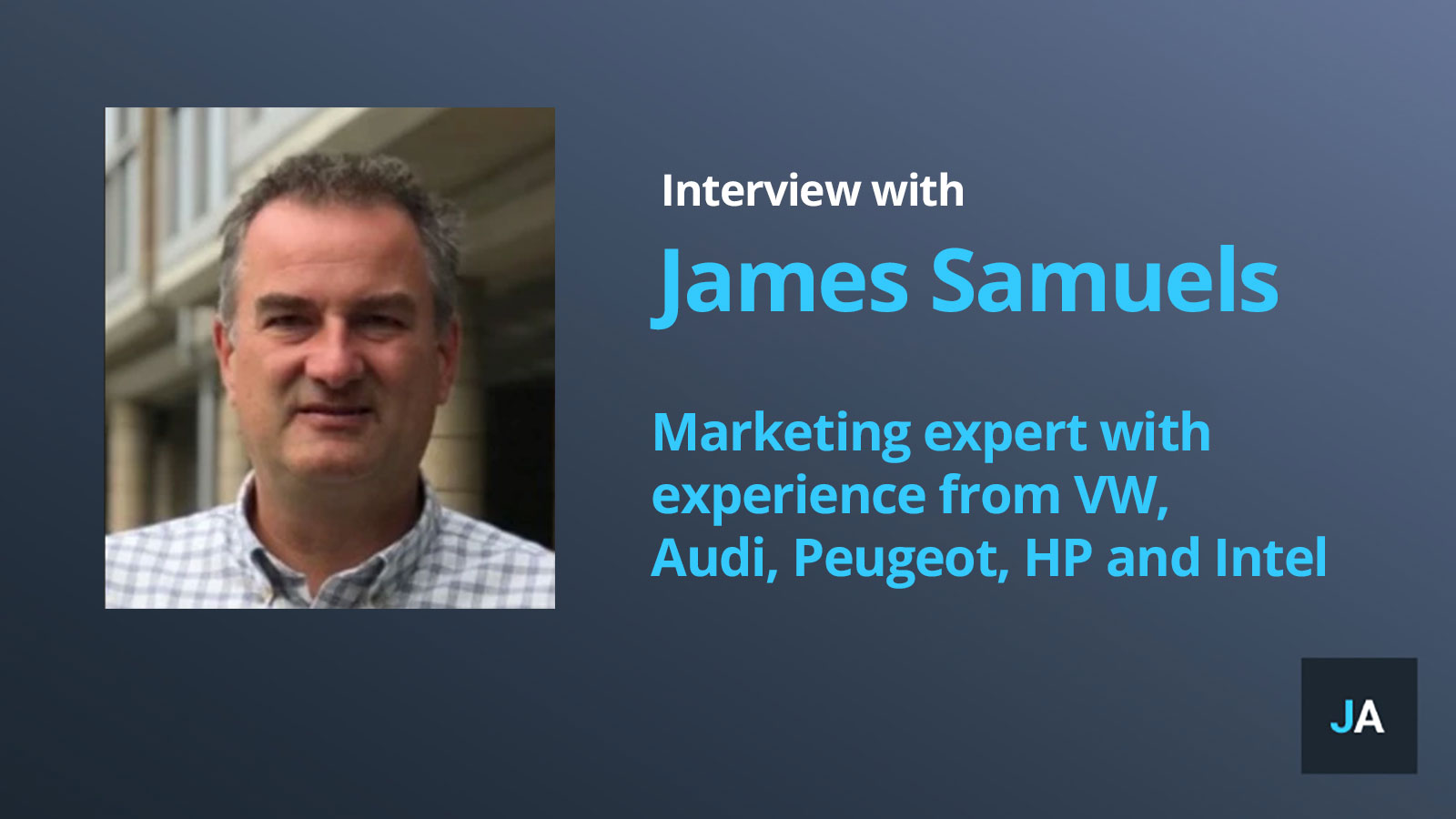 james samuels interview
