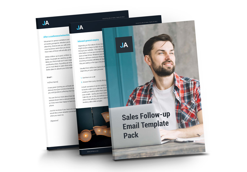 sales follow up email guidee